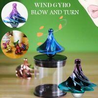 Desktop Wind Gyro Decompression Toy Creative Stress Gift Christmas Reliever J3Z6
