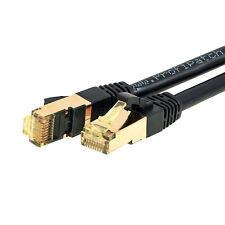 ProfiPatch Patchkabel Cat.6A schwarz 15m S/FTP RJ45 DSL Ethernet Netzwerk 10GB