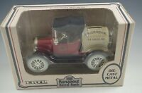 ERTL 1918 RUNABOUT BARREL TRUCK COIN BANK DIE CAST 1/25 SCALE MIB