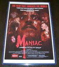Maniac 11X17 Movie Poster Tom Savini