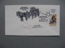 USA, eventcover 1994,  Butterfield Mule donkey mailchoach