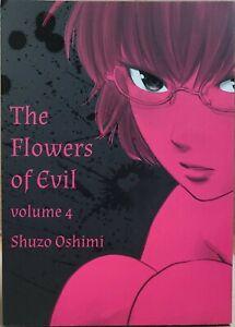 The Flowers of Evil Volume 4 English Manga Shuzo Oshimi RARE OOP Brand   New