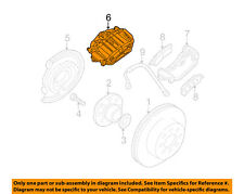 GM OEM Front Brake-Disc Caliper 19331021
