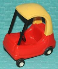Little Tikes Dollhouse Doll House Cozy Coupe Red Yellow Car