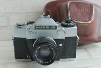 Russian Soviet Kiev 15 camera Helios-81 automat lens USSR 35mm Vintage