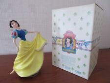 RARE *LARGE* Disney Schmid SNOW WHITE Rotating Music Box - Boxed
