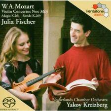 Julia Fischer, W.a. Mozart - Violin Concertos [New SACD] Hybrid SACD