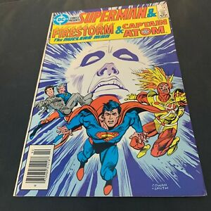 DC Comics Superman & Firestorm & Captain Atom #90 Feb 86 Craft Collector Recycle