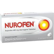 NUROFEN Ibuprofen 400 mg enrobés Tabl. 24 pièces PZN8794436