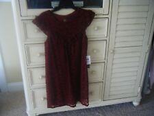 NWT As U Wish Lace Dress Size Medium New!
