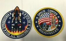 Armageddon Movie Freedom STS-98 & Roughnecks Logo patch Set of 2
