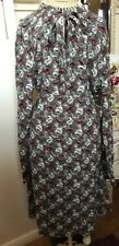 Bnwt M&S Floral Pussybow Dress Size 12