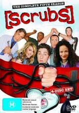 Scrubs : Season 5 (DVD, 2007, 4-Disc Set)