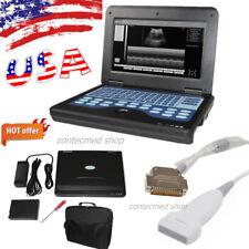 CONTEC Portable Full Digital Ultrasound Scanner Machine+7.5 Mhz Linear Probe USA