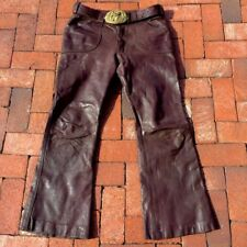 Bellbottoms Mens Leather From England 1960s 31""