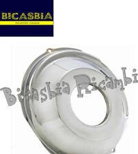9446 - COPRIVOLANO COPERCHIO VOLANO ACCIAIO INOX LUCIDO VESPA 125 VN1T VN2T