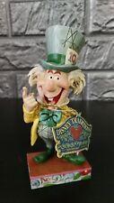 Disney Traditions Jim Shore Mad Hatter Mad Cap Mayhem Figurine Rare Alice NR