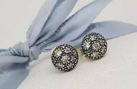 Authentic Pandora 'Cosmic Stars' Silver & CZ Earrings 290560CZ New