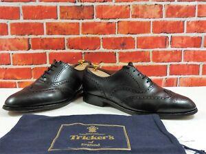 Trickers Mens Shoes Brogues Black UK 9.5 US 10.5 EU 43.5 Bench Made 5 Reg Bag