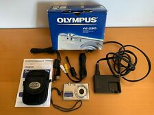 Olympus Fe-230 7.1Mp Digital Camera - Accessories, Battery Charger-Free Shipping