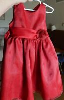 Special Occasion Fancy Tulle Dress - Red Size 4