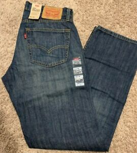Levi's 559 Relaxed Straight FIT Men's Jeans Dark Blue 30X32 MSRP$59 559-0229 New