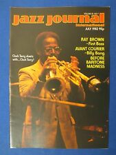 JAZZ JOURNAL MAGAZINE JULY 1982 RAY BROWN CAT ANDERSON BIG JOE DUSKIN BILLY BANG