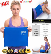 Large Cold Therapy Pad Reusable Gel Ice Pack Pain Relief Sport NEW Compress Back