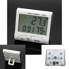 Termometro LCD Digitale Igrometro umidità Misuratore temperatura Orologio vc
