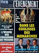 Mag rare 1991_hunters of treasures_the INCONNUS_Les behind the scenes MONARCHIES