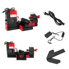 12V/220V 3A 36W Mini Lathe Milling Machine Bench Drill Wood Engraving Power Tool