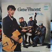 Gene Vincent Gene Vincent And The Blue Caps French vinyl LP album record T811