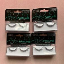 lot of 4 Ardell Natural 110 Black False Eyelashes Fake Eyelashes
