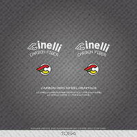 01064 Cinelli Carbon Dish Wheel Graphics Bicycle Stickers - Decals - Transfers