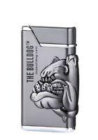THE BULLDOG Gasfeuerzeug mit grünerTurboflamme und Emblem Lizenzartikel 360250