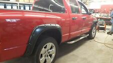 2002-2008  Dodge Ram 1500/2500/3500 Pocket-Riveted Style  Fender Flares 4pcs