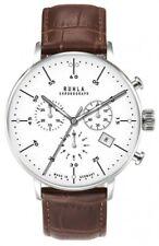 Gardé Ruhla Herrenuhr Uhr Chronograph Chrono Leder Bauhaus Design 91203