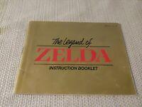 Legend of Zelda Nintendo NES Manual - Rare 3 screw Star version