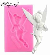 Tinkerbell Silicone Mold Fairy Candy Soap Fondant Chocolate Marzipan Quick Ship
