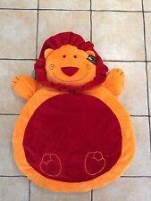 Newborn Orange Unisex Baby Play Mat/Gift Lion-Napoleon