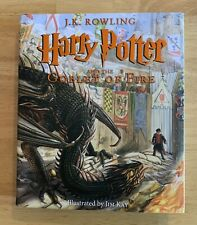 Harry Potter And The Goblet Of Fire J.K. Rowling HC DJ Jim Kay Illustrated 2019