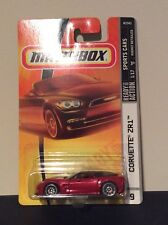 Matchbox Corvette ZR1 Metallic Red Cherry VERY HARD 2 FIND RARE! Free Shipping