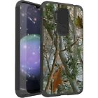 MetKase Hybrid Slim Phone Case Cover For Cricket Influence - CAMO TREE BRANCHES