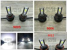 MINI 9005+9006+H11 6000K White LED Headlights Bulbs Kit High/Low Beam Fog Light