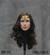 1/6 DREAM Wonder Woman Head Carved Diana Head Fit 12'' TBL PH Figure Body