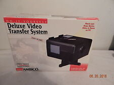 Ambico Deluxe video transfer system nice V-0650 slides home movies photos