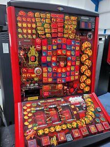 FRUIT MACHINE - JUGGLING JACKPOTS - £100 JACKPOT - NEW £1 READY