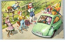 Postcard Cats Alfred Mainzer 4936