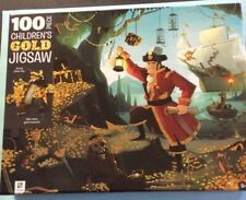 PIRATE TREASURE ~ Gold - CHILDREN'S 100 Piece - JIGSAW PUZZLE - NEW