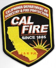 """""""Wildland""""  California Dept. of Forestry & Fire Prot. (3.5"""" x 4.5"""") fire patch"""